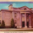 The Institute of Arts and Science at Manchester New Hampshire NH, Linen Postcard - 4016