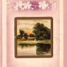 Peaceful Country Embossed 1909 Greetings, Vintage Postcard - 4020