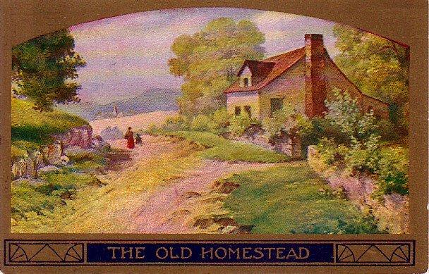 The Old Homestead, 1909 Vintage Postcard - 4025