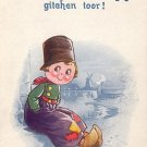Bamforth Company Vintage Comic Postcard, Dutch Kids - 3904
