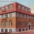 Seattle Labor Temple in Washington WA, Edward H Mitchell 1909 Vintage Postcard - M0006