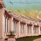 AYPE Exposition, Colonnade at Seattle Washington WA, Edward H Mitchell 1909 Vintage Postcard - M0015