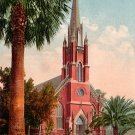 Catholic Church in Stockton California CA, Edward H Mitchell 1910 Vintage Postcard - M0073