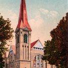 Central Methodist Church in Stockton California CA, Edward H Mitchell 1910 Vintage Postcard - M0074