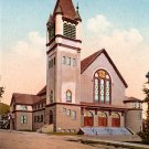 First Presbyterian Church in Berkeley California CA, Edward H Mitchell 1910 Vintage Postcard - M0084