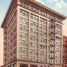 Corbett Building in Portland Oregon OR, Edward H Mitchell 1910 Vintage Postcard - M0085