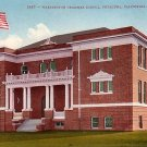 Washington Grammar School in Petaluma California CA, Edward H Mitchell 1910 Vintage Postcard - M0090