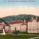 State Normal School in Bellingham Washington WA, Edward H Mitchell 1910 Vintage Postcard - M0105