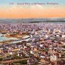View of Bellingham Washington WA, Edward H Mitchell 1910 Vintage Postcard - M0115