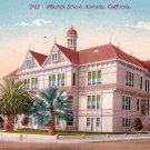 Mastick School in Alameda California CA Edward H Mitchell 1911 Vintage Postcard - M0128