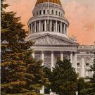 State Capitol in Sacramento California CA Edward H Mitchell 1911 Vintage Postcard - M0130
