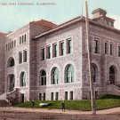 Custom House in Port Townsend Washington WA Edward H Mitchell 1908 Postcard - M0145