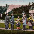 Japanese Women at Sutro Heights in San Francisco CA Edward H Mitchell 1908 Postcard - M0150