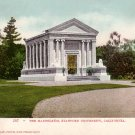 The Mausoleum at Stanford University in California CA Edward H Mitchell 1906 Postcard - M0158