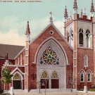 St. Patricks Church in San Jose California CA Edward H Mitchell 1907 Postcard - M0167