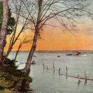 View on Lake Washington in Seattle WA, Edward H Mitchell 1906 Postcard - M0174