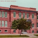 Union High School in Red Bluff California CA, Edward H Mitchell 1907 Postcard - M0184