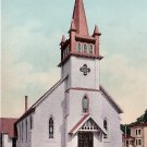 St. Marys Catholic Church in Eugene Oregon OR, Edward H Mitchell 1907 Postcard - M0187