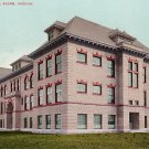 High School in Salem Oregon OR, Edward H Mitchell 1907 Postcard - M0189