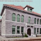 Thurston County Court House in Olympia Washington WA, Edward H Mitchell 1907 Postcard - M0190