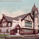 First Presbyterian Church in San Jose California CA Edward H Mitchell Vintage 1908 Postcard - M0204