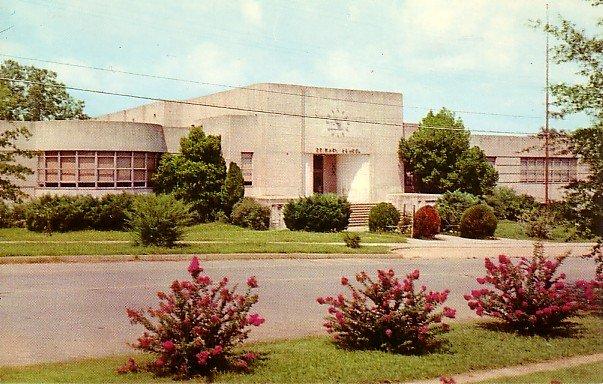 Primary School Tupelo Mississippi MS 1955 Curt Teich Chrome Postcard - BTS 21