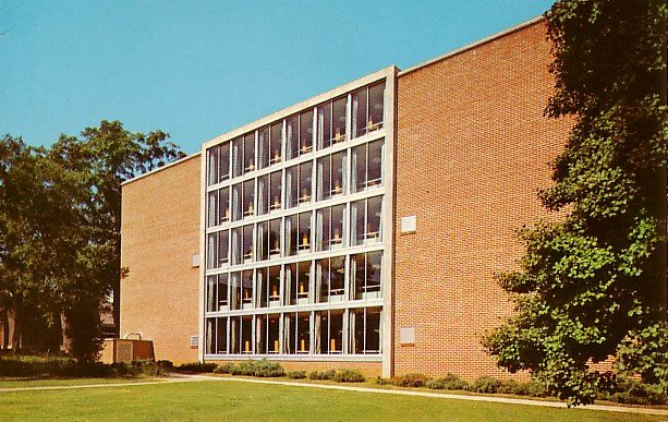 Fant Memorial Library Columbus Mississippi MS State College for Women Postcard - BTS 23