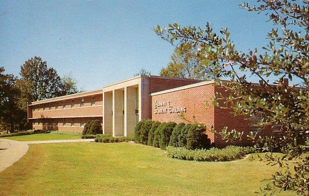 Mississippi State University in Starkville Mississippi MS Chrome Postcard - BTS 25