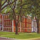 Bellows Free Academy in St. Albans Vermont VT, Linen Postcard - BTS 67