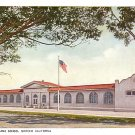 Galen Clarke School in Merced California CA, Vintage Postcard - BTS 75