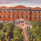 St Anthonys Seminary in Catskill New York NY Linen Postcard - BTS 100