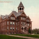 Central High School at Cortland New York NY, Vintage Postcard - BTS 104