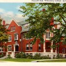 Ferncliff Hall Wittenberg College Springfield Ohio OH Curt Teich Postcard - BTS 132