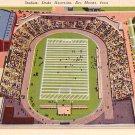 Drake University Stadium Des Moines Iowa IA Linen Postcard - BTS 164