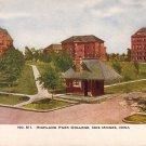 Highland Park College in Des Moines Iowa IA Vintage Postcard - BTS 170