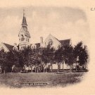 College of Emporia in Kansas KS, Vintage Postcard - BTS 179