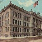 Boys High School in Reading Pennsylvania PA, Vintage Postcard - BTS 197