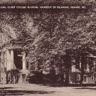 Old College at the University of Delaware in Newark DE Vintage Postcard - BTS 203