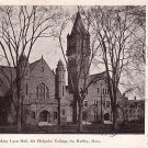 Mary Lyon Hall at Mt. Holyoke College in South Hadley Massachusetts 1905 Vintage Postcard - BTS 204
