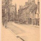 Trumpington Street in Cambridge England, Vintage Postcard - 4129