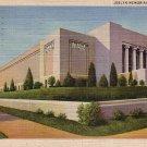 Joslyn Memorial in Omaha Nebraska NE, 1933 Curt Teich Linen Postcard - 4135