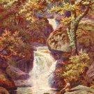The Fairy Glen at Penmaenmawr in Wales, Raphael Tuck & Sons Postcard - 4147