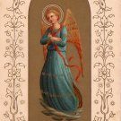 Christmas Angel 1922 Vintage Postcard - 4209
