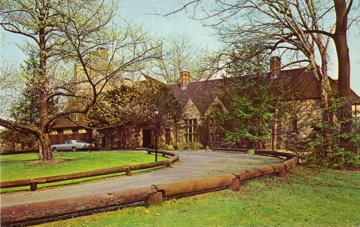 Stokesay Restaurant in Reading Pennsylvania PA, Chrome Postcard - 4212