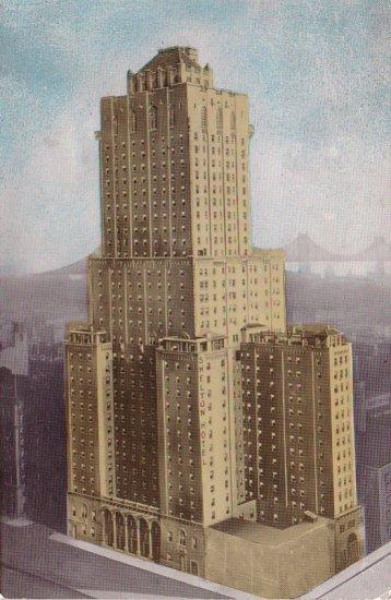 Shelton Hotel in New York City NY, Chrome Postcard - 4235