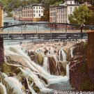 Waterfall at Springfield Vermont VT, 1906 Vintage Postcard - 4249