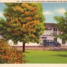 Residence of Clark Gable in Brentwood Highlands California CA, 1934 Linen Postcard - 035 NJ