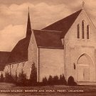 Christ LutheranChurch in Perry Oklahoma OK, 1954 Mid Century Postcard - 046 NJ