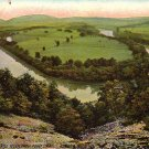 Schuylkill River from Reading Pennsylvania PA, 1910 Vintage Postcard - 4284