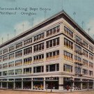 Olds Wortman & King Department Store in Portland Oregon, Vintage Postcard - 4285
